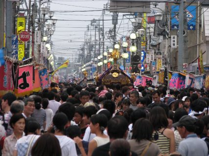 7月<br />-鴻巣夏祭り-