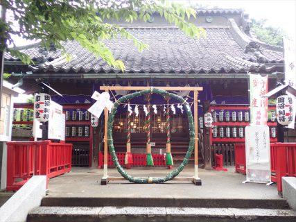 6月<br />ー鴻神社 茅の輪くぐりー