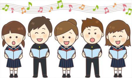 赤見台中学校 合唱コンクール 放送!